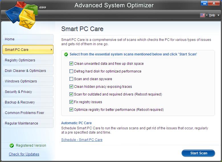 Smart PC Care