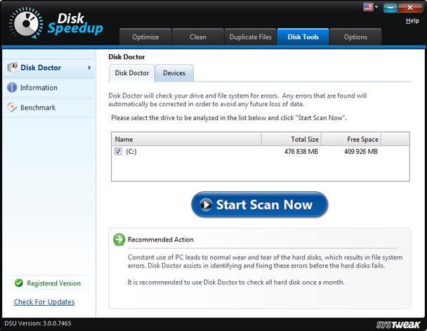 Disk Doctor